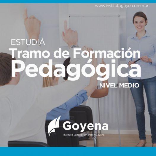 Tramo de Formación Pedagógica – Nivel Medio